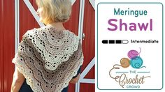 Crochet Meringue Shawl Pattern