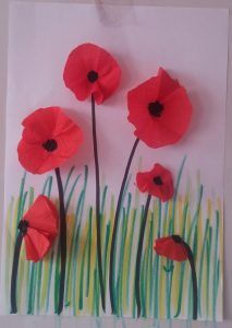 How to Make Poppy for Spring Craft Idea? - Preschool and Kindergarten red poppy spring craft idea fo Poppy Craft For Kids, Spring Crafts For Kids, Art For Kids, Craft Activities For Kids, Preschool Crafts, Fun Crafts, Arts And Crafts, Montessori Activities, Wood Crafts