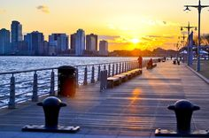 Pier 45 and other amazing places to catch a sunset in NYC