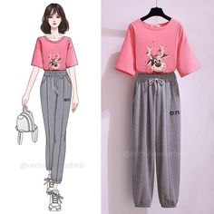 Cute Teen Outfits, Teen Fashion Outfits, Outfits For Teens, Trendy Outfits, Girl Outfits, Trendy Dresses, Cute Dresses, Casual Dresses, Korean Girl Fashion