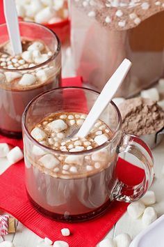 Quick, easy and delicious, this is the best homemade hot cocoa mix you'll ever try! Come see what secret ingredient makes it taste so amazing!