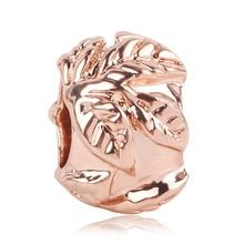 2019 New Rose Gold Blush Pink Magnolia Bloom Bead Fit Original Pandora Charms and Other Favorites Rose Gold Charms, Pandora Charms, Magnolia, Blush Pink, Bloom, Charmed, The Originals, Beads, Jewelry