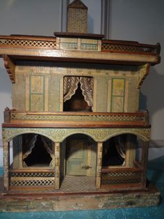 Bliss Doll House from jackieeverett on Ruby Lane