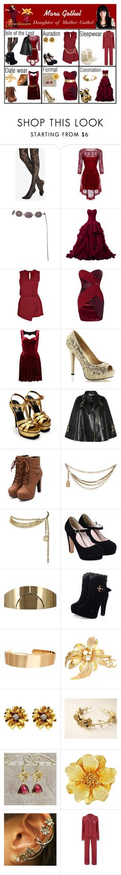 """""""Mara Gothel. Daughter of Mother Gothel"""" by elmoakepoke ❤ liked on Polyvore featuring ...Lost, Disney, Express, Collezione Alessandro, Boohoo, Elise Ryan, Topshop, Yves Saint Laurent, Givenchy and Chanel"""