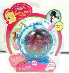 Barbie Peek a Boo Petites Girls of the World Jemila Johannesburg #47 New Retired #Mattel #Barbie #PeekABoo