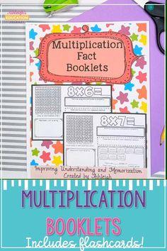 Multiplication Activities, Math Activities, Memorizing Multiplication Facts, Third Grade Math, Grade 2, Fourth Grade, 4th Grade Classroom, Future Classroom, Math Workshop