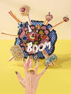Jacobo Prol | Pop art y joyería por Alexandra Bruel para Vogue