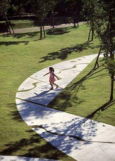 Saiki Peace Memorial Park by Earthscape Landezine | Landscape Architecture Works #UrbanLandscape