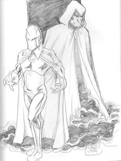 Dr. Fate and the Spectre by TJ Friars