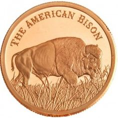 American Bison 1 Ounce Copper Round