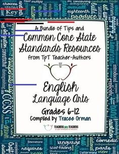 English Language Arts: Free Back-to-School eBook Grades TpT FREE Common Core State Standards ELA eBook Resource filled with classroom tips and freebies to start the new school year (grades Common Core English, Common Core Ela, Common Core Standards, Middle School Ela, Middle School English, School Resources, Teaching Resources, Teaching Ideas, 8th Grade Ela