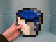 Lego Minecraft Water Bucket!
