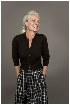 Pia Gronning | Over 50 And Fabulous More #over50clothingwomen