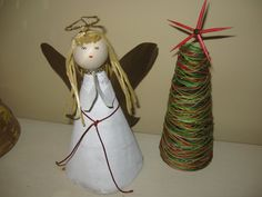 Thank you Alyssacoleman198525 for asking me to do an angel tree topper! I hope you like it. I used mostly recycled materials. Remember to rate, comment and s...