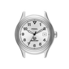 Fossil Defender Three-Hand Date Stainless Steel Case DEC1000 | FOSSIL®