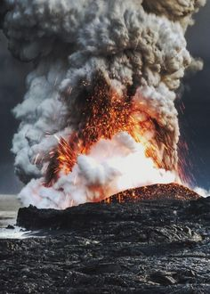 "mstrkrftz: ""  Volcano in Hawaii   Alain Barbezat """