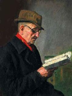 Reading and Art: Oszkár Glatz