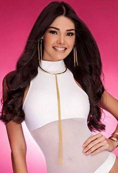 Andrea Rosales Miss Amazonas y una de las Favoritas al titulo de Miss Venezuela 2015..