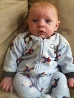 My niece Mindy's son Dominik.
