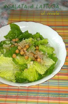 Insalata di lattuga al miele, ricetta, cucina preDiletta Lettuce, Cabbage, Vegetables, Food, Essen, Cabbages, Vegetable Recipes, Meals, Yemek
