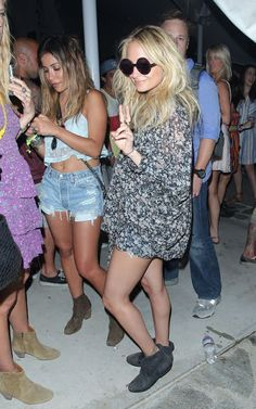 Nicole Richie At Coachella