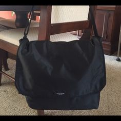 """Kate Spade Nylon Shoulder Tote Perfect bag for work, school or the gym! Dimensions: 15"""" length, 12"""" deep, 6"""" wide. kate spade Bags Totes"""