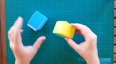 The Origami Sliding Box is a modular Origami box - which is put together from 8 square sheets of paper. You can use Origami paper or card stock. I used 2 lig...