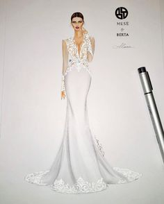ideas fashion show dress sketches Fashion Design Drawings, Fashion Sketches, Beautiful Wedding Gowns, Beautiful Dresses, Wedding Dress Sketches, Wedding Dresses, Fashion Show Dresses, Dress Fashion, Fashion Illustration Dresses