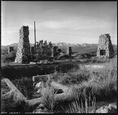 The Llano Del Rio Ruins of a former Utopian Society - things to do in the Antelope Valley for tourists and visitors . Unusual roadside attractions in Southern California