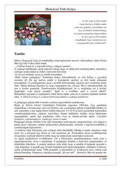 Molnárné Tóth Ibolya Szakmai önéletrajz | PDF to Flipbook Portfolio, Word Search, Words, Horse