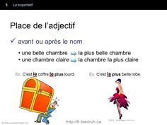 Superlatif grammaire française