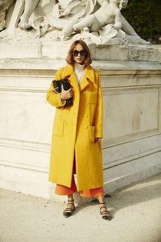 Неделя моды в Париже, весна-лето 2016: street style. Часть 2 (фото 8)