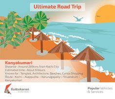Ultimate Road Trip - Kanyakumari #RoadTrip #Architecture #Temples #Beach