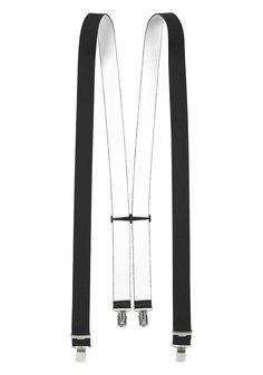 Produkttyp , Hosenträger, |Obermaterial , Polyester, |Farbe , schwarz, |Optik , Uni, |Länge , 110 cm, |Breite , 2,5 cm, | ...