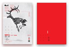 Excellent mix of simplicity and elegance, traditional and modern Christmas card design