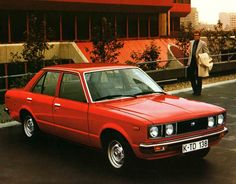 Toyota Carina from the late 70's