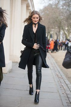 Olivia Palermo after the Osman show at ICA on day 4 of the London Fashion Week February 2017 collections on February 20 2017 in London England