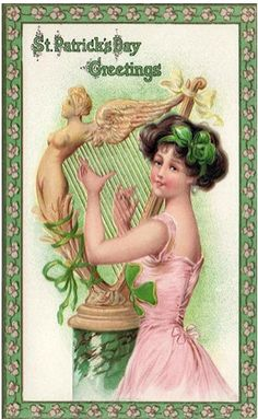 Vintage - St Patrick's Day Greetings