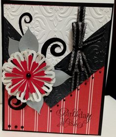 SC531, Shimmery Silver leaves by annsforte3 - Cards and Paper Crafts at Splitcoaststampers