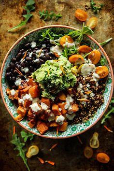 Cuban Quinoa Bowl | Heather Christo
