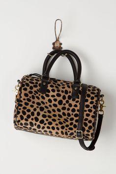 Leopard-Dappled Duffle - Anthropologie.com