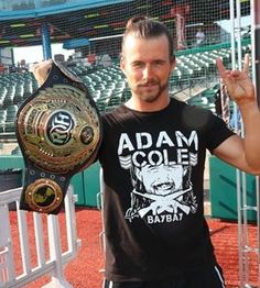 Adam Cole, Bay And Bay, Wwe Wrestlers, Professional Wrestling, Wwe Superstars, Ufc, Sexy Men, Bullet, Club