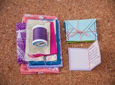 DIY Tiny Notes & Envelopes   Sewing Secrets - A Blog by Coats & Clark