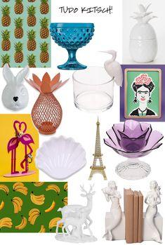 Decoração kitsch: o que é e onde encontrar objetos!