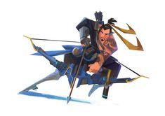 Character Concept, Character Art, Concept Art, Character Design, Video Game Art, Video Games, Overwatch Hanzo, Overwatch Mercy, Overwatch Comic