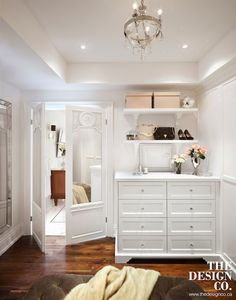 Mirrored Bi Fold Doors, Transitional, Closet, The Design Company