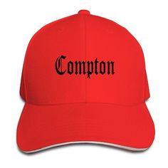 Compton Print Baseball Cap 7 Colors Rap Cap d4e9450f648
