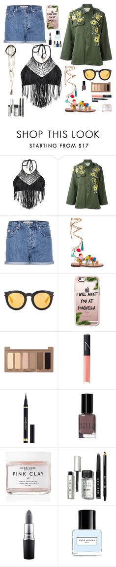 """""""Coachella look #2"""" by justadream133 ❤ liked on Polyvore featuring Luli Fama, Calvin Klein Jeans, Mabu by Maria BK, Yves Saint Laurent, Casetify, Urban Decay, NARS Cosmetics, Bobbi Brown Cosmetics, Herbivore Botanicals and MAC Cosmetics"""
