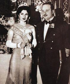TM King Farouk and Queen Farida
