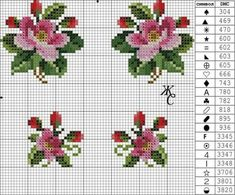 Sunshine Home Decor: Masa örtüsü Small Cross Stitch, Cross Stitch Heart, Cross Stitch Cards, Cross Stitch Borders, Cross Stitch Flowers, Cross Stitch Designs, Cross Stitching, Cross Stitch Embroidery, Embroidery Patterns
